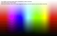 Granger Rainbow - default colorimetric rendering