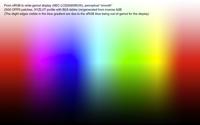 granger rainbow - rendu perceptuel ????lisse????